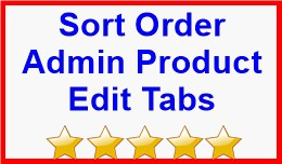 Sort Order Admin Product Edit Tabs