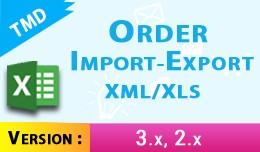 order import export xml / xls (1.5.x , 2.x &..