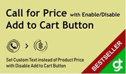 Call for Price - Hide add to cart Button - SALE ..