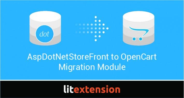 LitExtension: AspDotNetStoreFront to OpenCart Migration