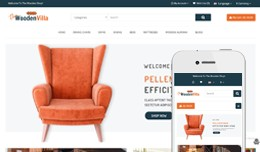 Wooden Shop Multipurpose Theme - Furniture Store