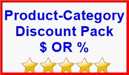 Product-Category Discount Pack $ OR %