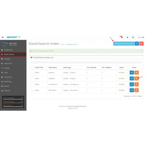 OpenCart - OpenCart Elasticsearch