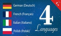 German, Italian, French, Polish opencart 3 Langu..