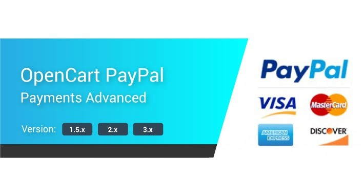 PayPal Advanced Module for OpenCart