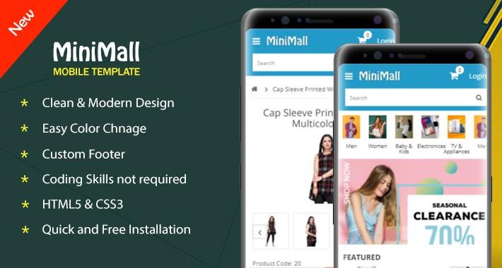 MiniMall Mobile Theme