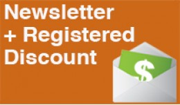 NEWSLETTER & REGISTERED DISCOUNTS