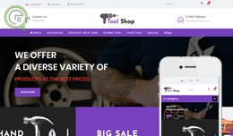 Auto Part Tools Shop OpenCart  Multipurpose Theme