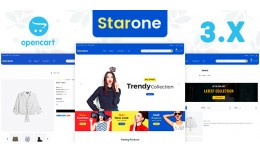 Starone Fashion OpenCart Responsive Theme