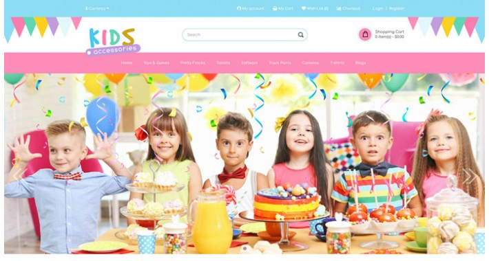 Engage - Kids Multipurpose Responsive Opencart  3.x