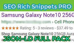 SEO Rich Snippets PRO [FULL SOLUTION]
