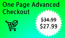 Opencart One Page Advanced Checkout