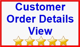 Customer Order Details View