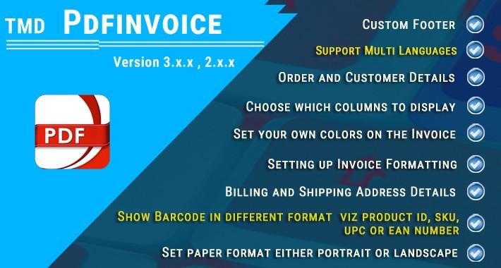 PDF Invoice PRO