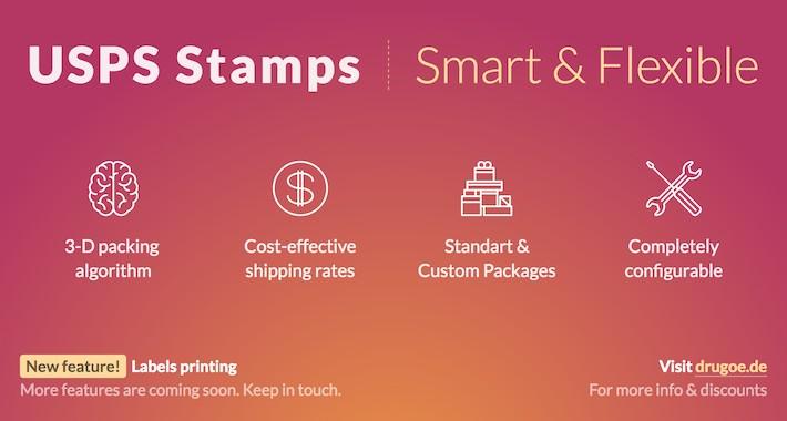 Opencart Usps Stamps Smart Flexible