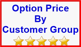 Option Price By Customer Group