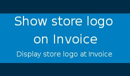 Show store Logo on Invoice