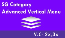 SG Advanced Vertical Category Menu