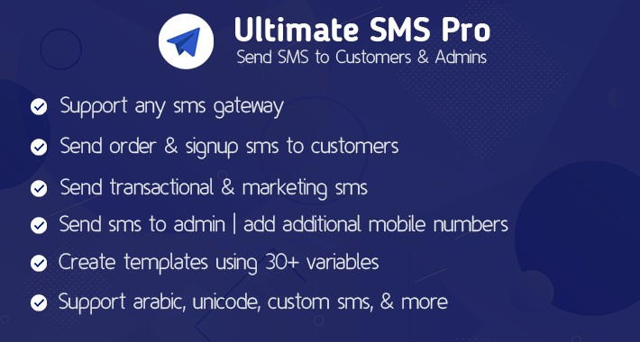 Ultimate SMS Pro - All in One SMS Gateway Extension