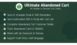 Ultimate Abandoned Cart - Best Ways to Recover A..
