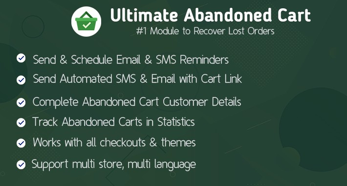 Ultimate Abandoned Cart - Best Ways to Recover Abandoned Carts