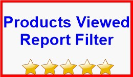 Products Viewed Report Filter
