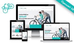 Bikes Shop Multipurpose Opencart 3x Theme
