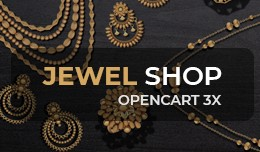 Jewel Shop - OpenCart 3 Multi-Purpose Theme