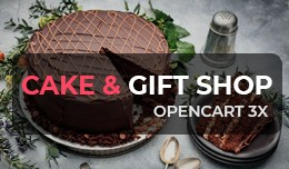 Cake & Gift Shop - OpenCart 3 Multi-Purpose ..