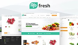AB Fresh Grocery Theme