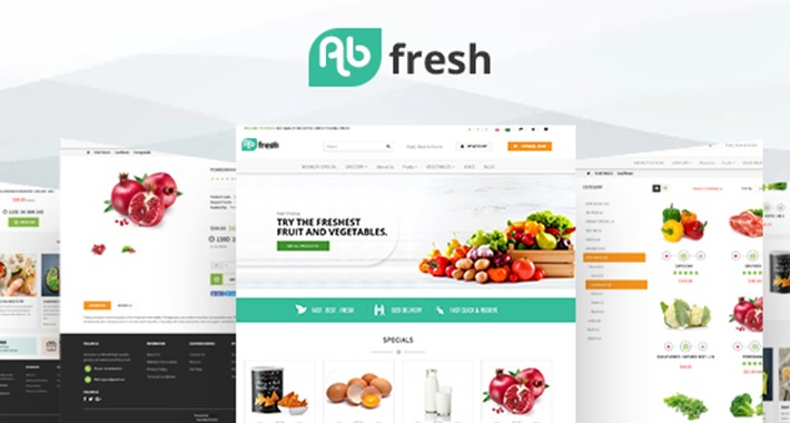 AB Fresh Grocery Theme