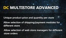 DC Multistore advanced