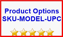Product Options SKU-MODEL-UPC