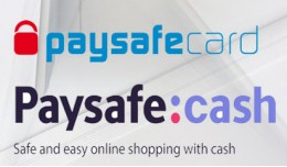 Paysafecash and Paysafecard