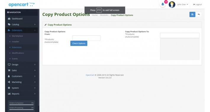 Mass Product Options Copy
