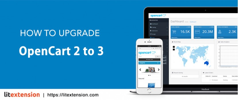 How to upgrade OpenCart 2 to 3 by LitExtension
