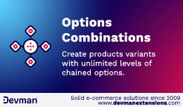 Options combinations - Chained options - Product..