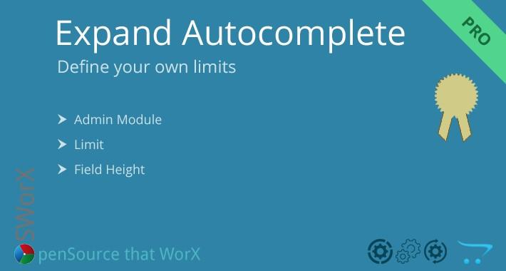 Admin List Limit - Expand Admin Autocomplete Limit PRO