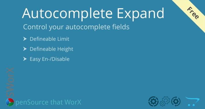Admin List Limit - Expand Admin Autocomplete Limit