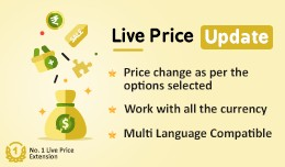 Live Price Update - Price Change with option