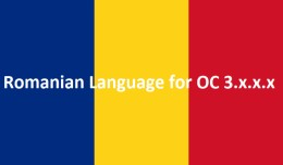 Romanian Language for OC 3.x.x.x