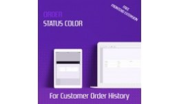 Order Status Color - Frontend