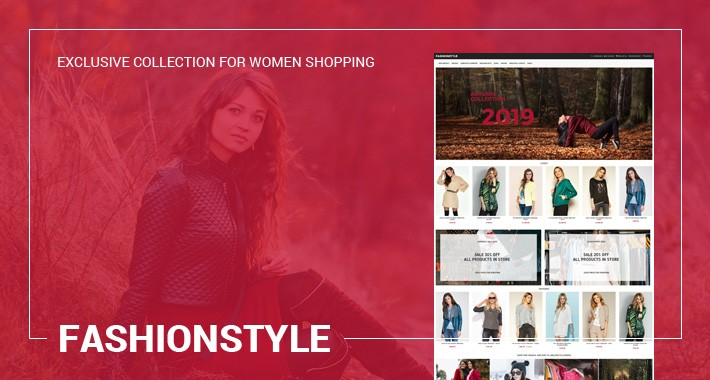 Fashionstyle - Clothes, Fashion, Universal - Responsive Template