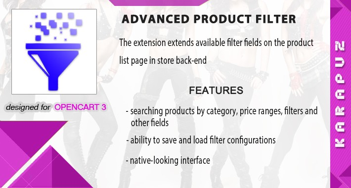 Advanced Product Search (for Opencart 3)
