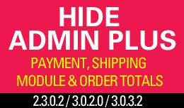 Hide Admin Plus