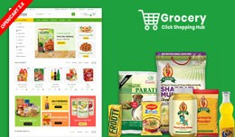 Grocery OpenCart 3.X Multistore Theme (Free Inst..