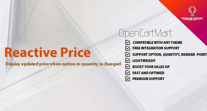 Reactive Price