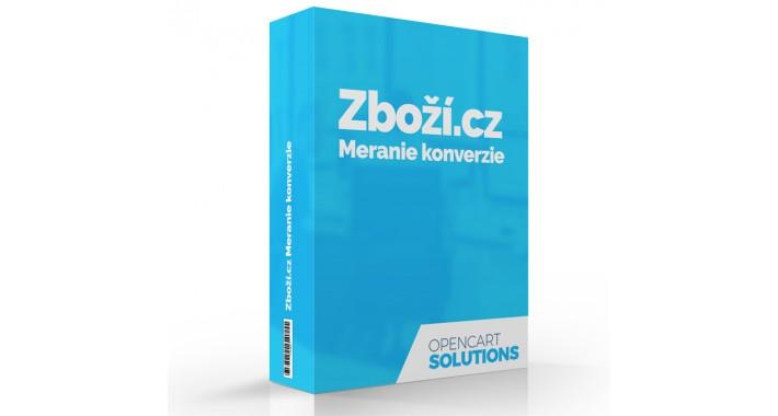 Zboží.cz Meranie konverzie, OC2.x-3.x