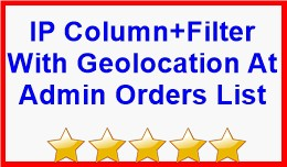 Ip Column+Filter With Geolocation At Admin Order..