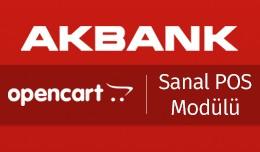 Akbank OpenCart Sanal POS Modülü - Akbank Open..